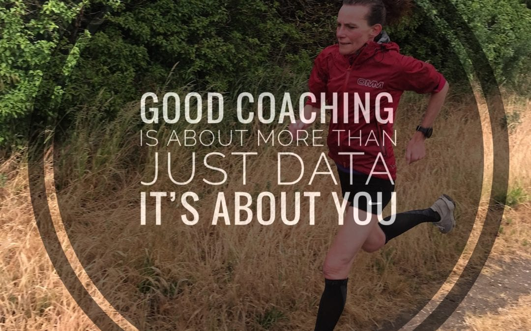 good coaching is more than just data. Its about you